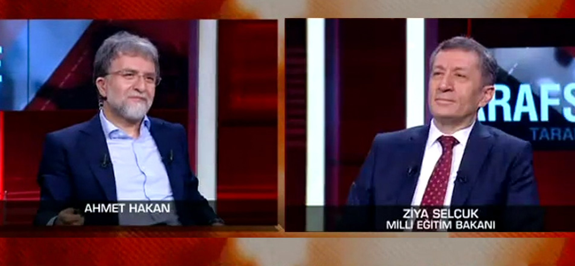 MINISTER SELÇUK ANSWERED QUESTIONS ABOUT EDUCATION IN A CNN TURK TV PROGRAM